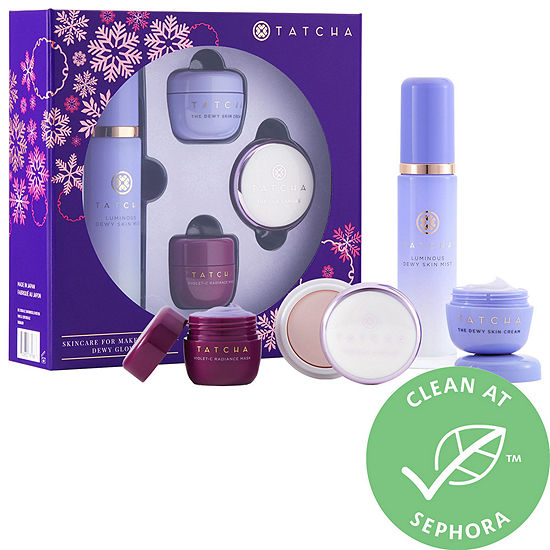 Tatcha Skincare for Makeup Lovers: Dewy Glow Set ($105.00 value)