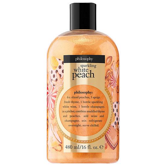 philosophy Sparkling White Peach Shampoo, Shower Gel & Bubble Bath
