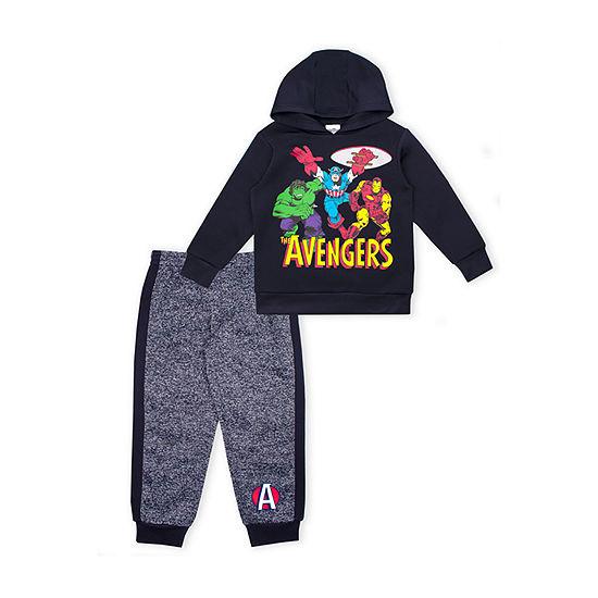 Marvel Boys Avengers 2-pc. Pant Set Toddler