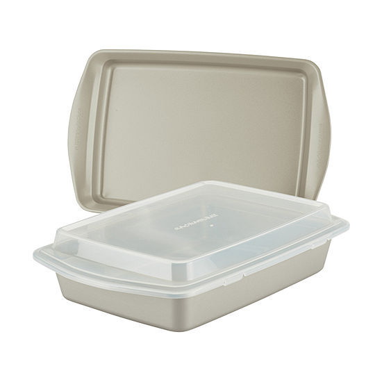 Rachael Ray 3pc. Lid Non-Stick Bakeware Set