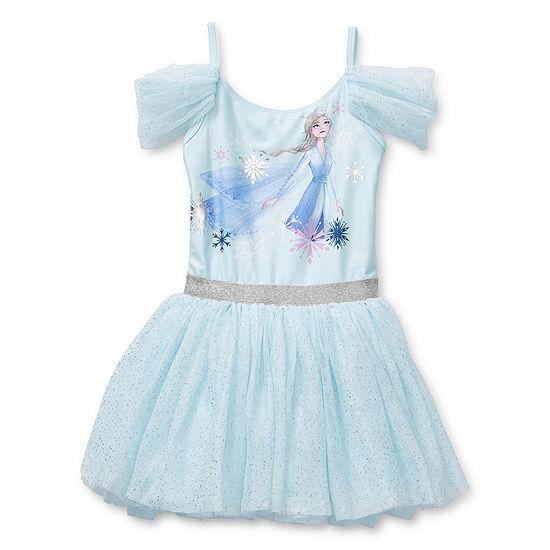 Disney Frozen 2 Leotard Dress - Girls