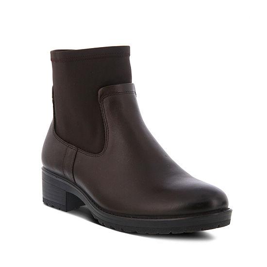 Flexus Womens Albhe Chelsea Boots Flat Heel