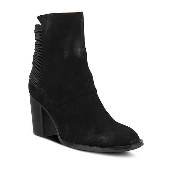 Azura Womens Apore Block Heel Dress Boots