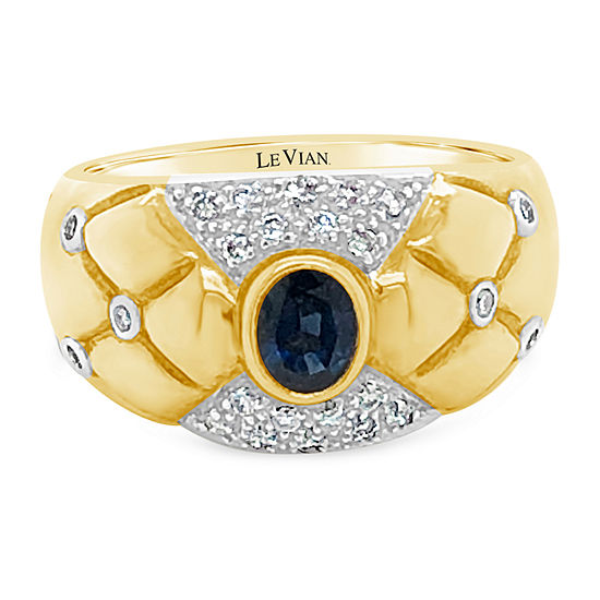Le Vian Grand Sample Sale™ Ring featuring Blueberry Sapphire™ set in 18K Honey Gold™