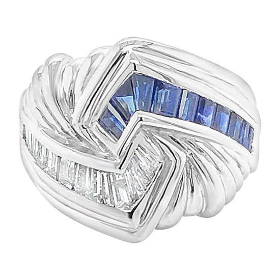 Le Vian Grand Sample Sale™ Ring featuring Blueberry Sapphire™ set in 18K Vanilla Gold®