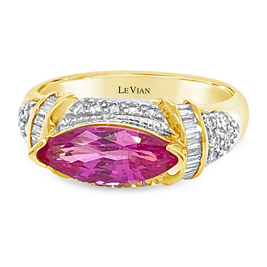 Le Vian Grand Sample Sale™ Ring featuring Bubble Gum Pink Sapphire™ set in 18K Honey Gold™