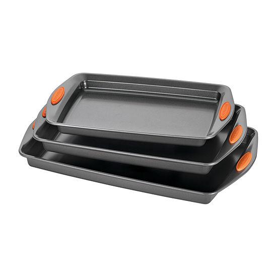 Rachael Ray® Yum-o! 3-pc. Lovin' Nonstick Oven Cookie Pan Set