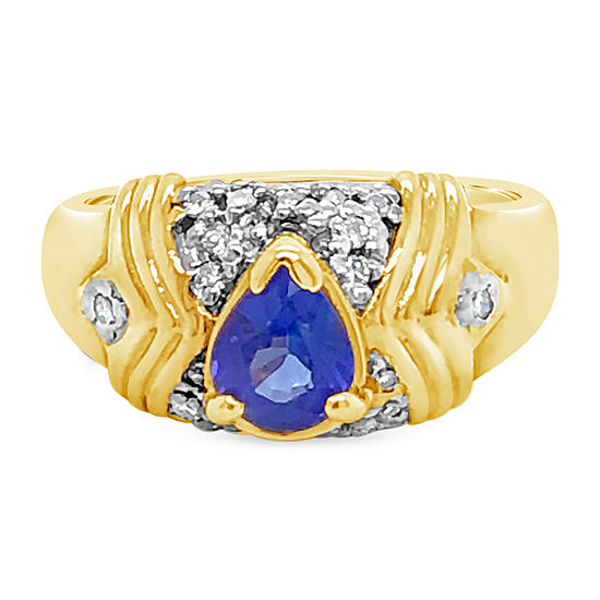 Le Vian Grand Sample Sale™ Ring featuring Blueberry Tanzanite® set in 14K Honey Gold™