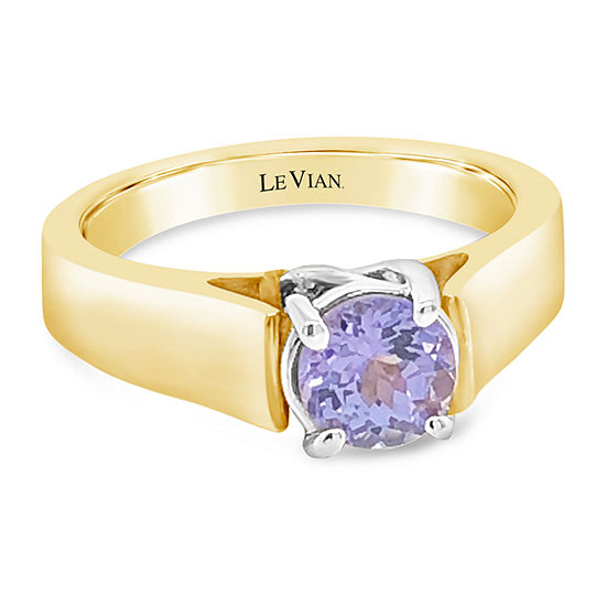 Le Vian Grand Sample Sale™ Ring featuring Blueberry Tanzanite® set in 14K Two Tone Gold