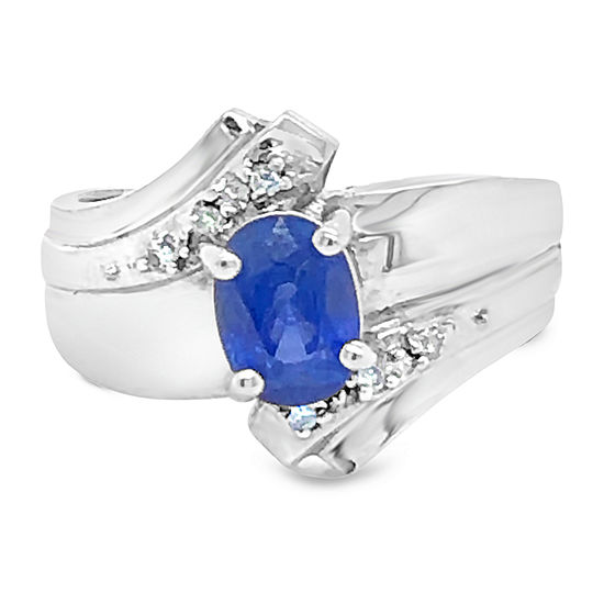 Le Vian Grand Sample Sale™ Ring featuring Cornflower Ceylon Sapphire™ set in 18K Vanilla Gold®