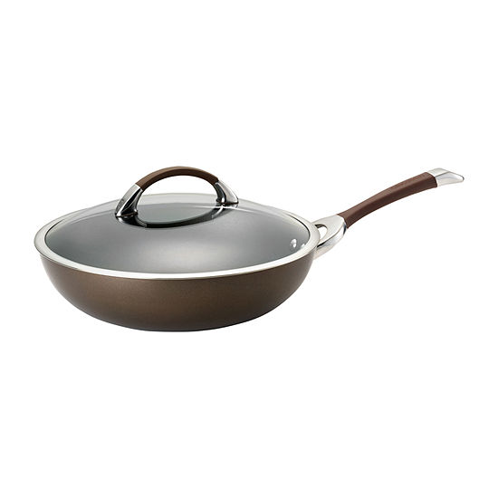 "Circulon® Symmetry 12"" Hard-Anodized Covered Essential Pan"