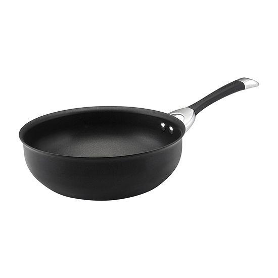 Circulon® Symmetry 4½-qt. Hard-Anodized Open Chef's Pan