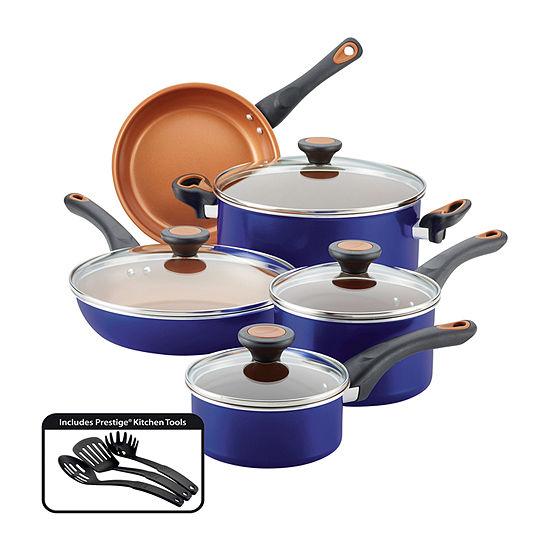 Farberware Cookware Set 12-pc. Aluminum Non-Stick Cookware Set