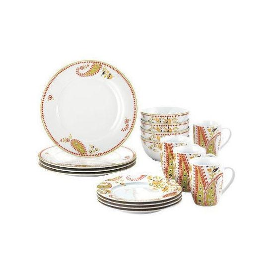 Rachael Ray® Paisley 16-pc. Dinnerware Set