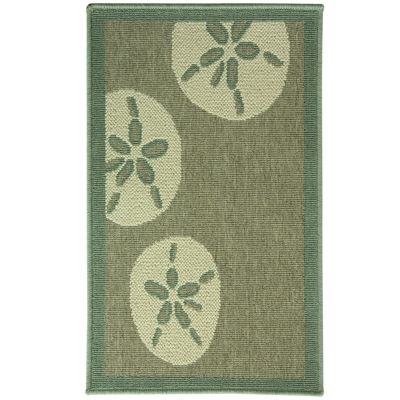 Bacova Sand Dollar Rectangular Rug