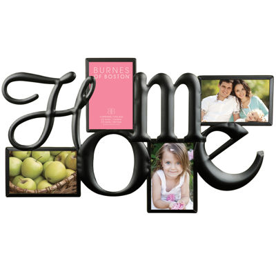 "Home 4-Opening 4x6"" Collage Picture Frame"