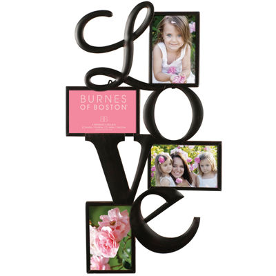 "Love 4-Opening 4x6"" Collage Picture Frame"