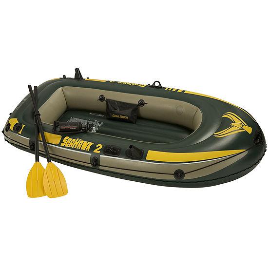 Intex® Seahawk Inflatable Lake Boat