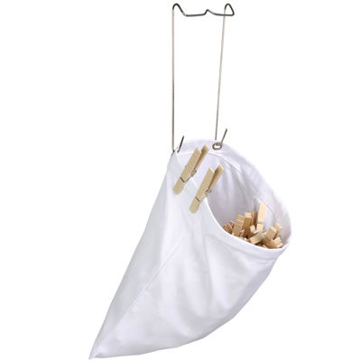 Honey-Can-Do® 2-Pack Hanging Clothespin Bags