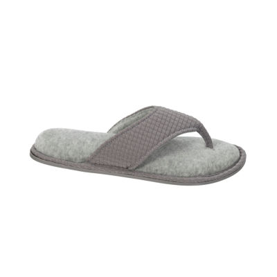 Dearfoams Knit Slip-On Slippers