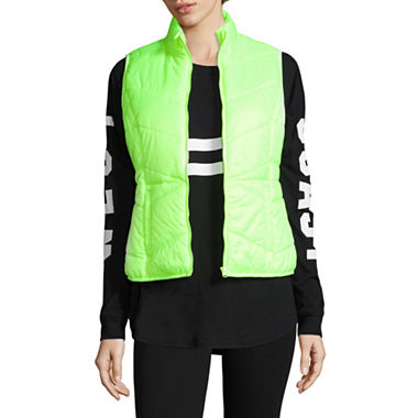Flirtitude Puffer Vest-Juniors...