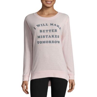 Brushed Fleece Sweatshirt- Juniors