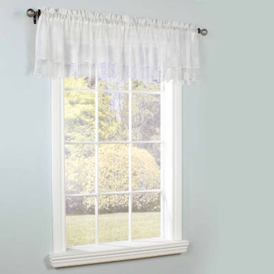 Anna Maria Rod-Pocket Valance