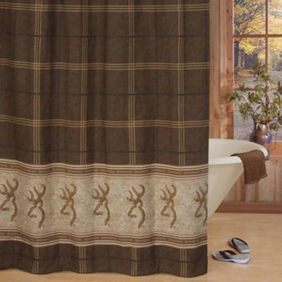 Browning Buckmark Shower Curtain