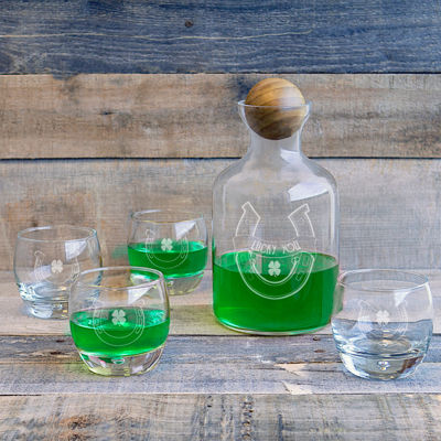 Cathy's Concepts St. Patrick'S Day 5-pc. Decanter Set