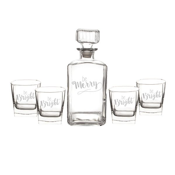 Cathy's Concepts Be Merry 5-pc. Decanter Set