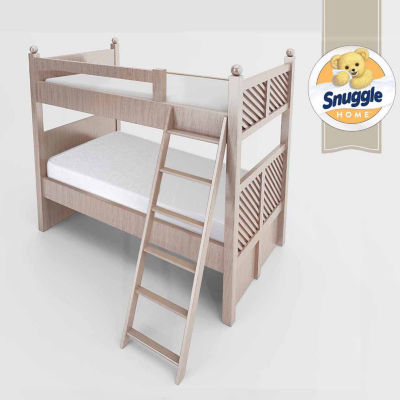 "Snuggle Home 2 pack 6"" Bunk Bed Foam Mattresses"