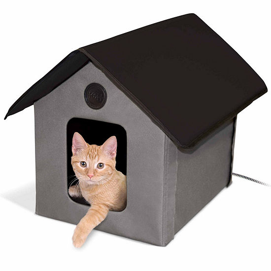 """K & H Manufacturing Outdoor Heated Kitty House 22""""L X 18"""" W X 17"""" H 20 Watts"""""""