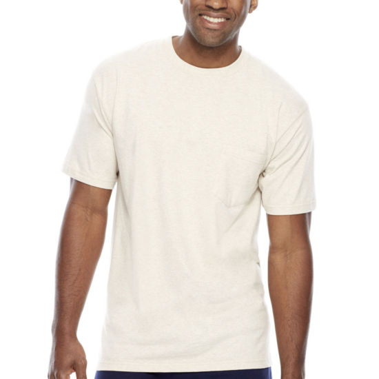 Stafford® Performance Heavyweight Crewneck Pocket Tee - Big & Tall
