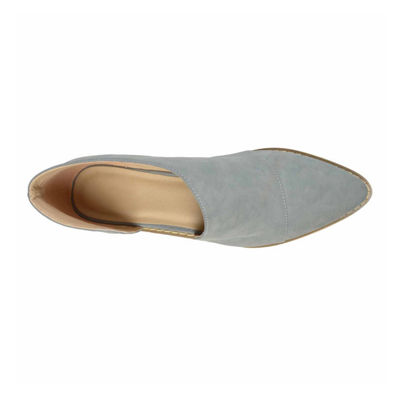 Journee Collection Womens Quelin Slip-On Shoe Pointed Toe