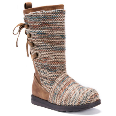 Muk Luks Womens Lucinda Winter Boots Water Resistant Pull-on
