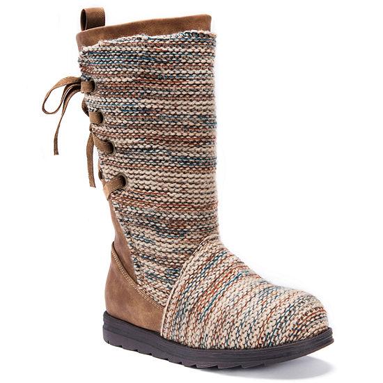 Muk Luks Womens Lucinda Water Resistant Winter Boots