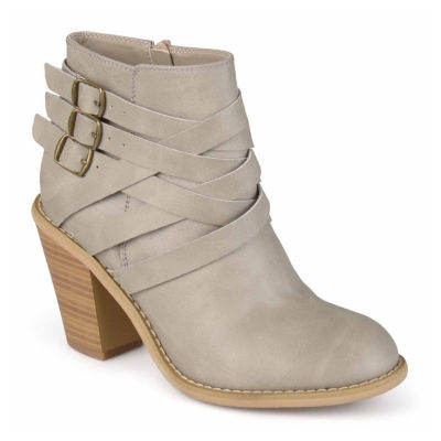 Journee Collection Strap Womens Bootie