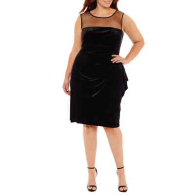 Scarlett Sleeveless Party Dress - Plus