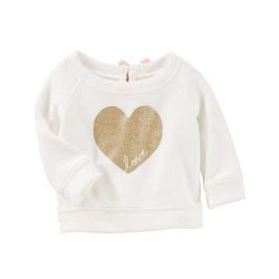 Oshkosh Long Sleeve SweatShirt - Baby Girl