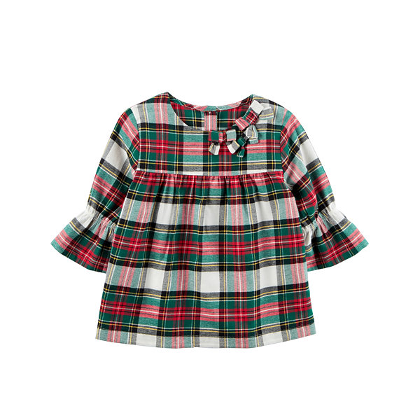 Carter's 3/4 Sleeve Babydoll Top - Preschool Girls