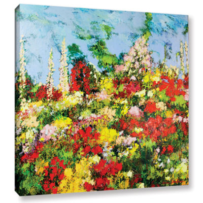Brushstone Overgrown Gallery Wrapped Canvas Wall Art