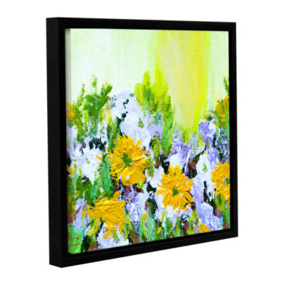 Brushstone Parade La Villet Garden Gallery WrappedFloater-Framed Canvas Wall Art