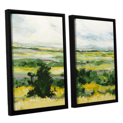 Brushstone Petersfield 2-pc. Floater Framed CanvasWall Art
