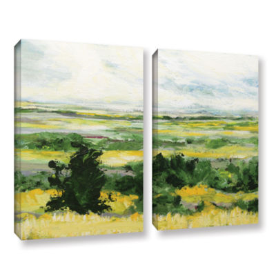 Brushstone Petersfield 2-pc. Gallery Wrapped Canvas Wall Art