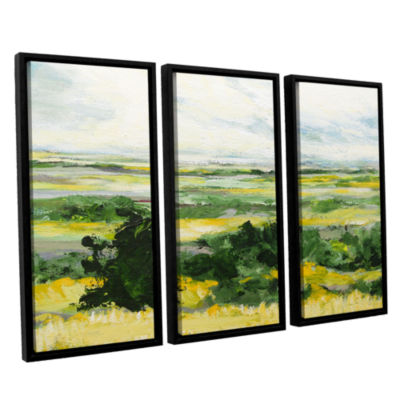 Brushstone Petersfield 3-pc. Floater Framed CanvasWall Art