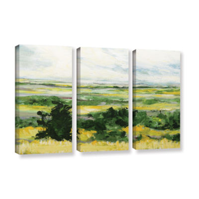 Brushstone Petersfield 3-pc. Gallery Wrapped Canvas Wall Art