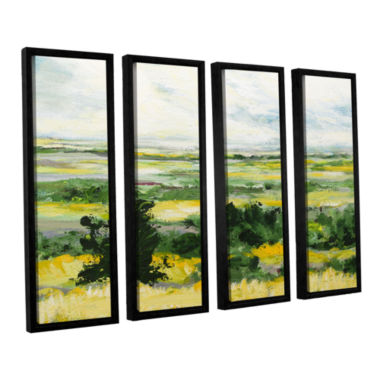 Brushstone Petersfield 4-pc. Floater Framed CanvasWall Art