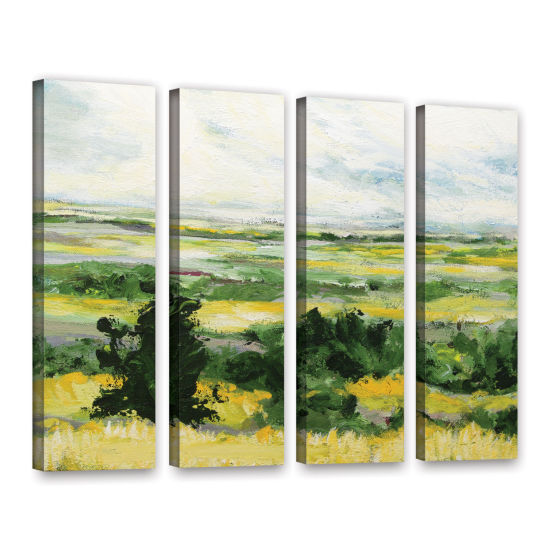 Brushstone Petersfield 4-pc. Gallery Wrapped Canvas Wall Art