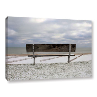 Brushstone Outlook Gallery Wrapped Canvas Wall Art