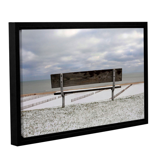 Brushstone Outlook Gallery Wrapped Floater-FramedCanvas Wall Art